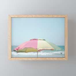 Just Beachy Framed Mini Art Print