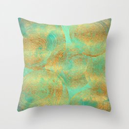 Jungle Theorem Abstract Throw Pillow