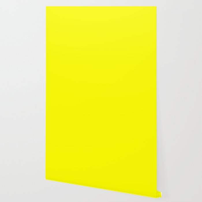 solid color bright yellow wallpaper