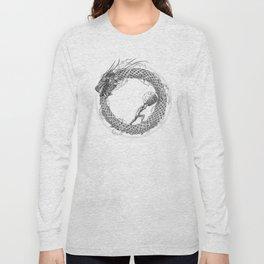 The Ouroboros / Uroboros and Sisyphus Long Sleeve T-shirt