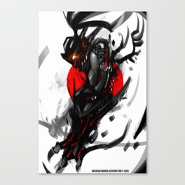 Dark Ronin Canvas Print