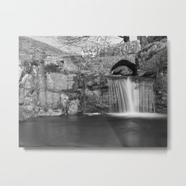 Packhorse bridge at 3 shires head Metal Print