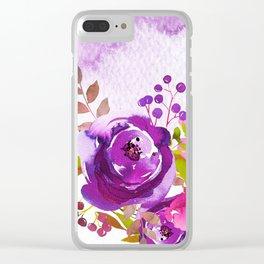 Flowers bouquet #46 Clear iPhone Case