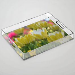 May Flowers For Mom Acrylic Tray