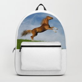 Jumping Wild Horse Backpack