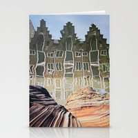 amsterdam Stationery Cards featuring Amsterdam by John Turck