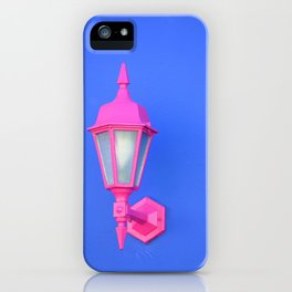 pink and blue #society6 #decor #buyart iPhone Case