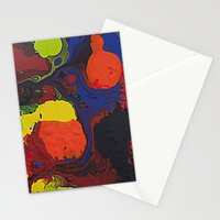 Abstract Colibrii. Stationery Cards