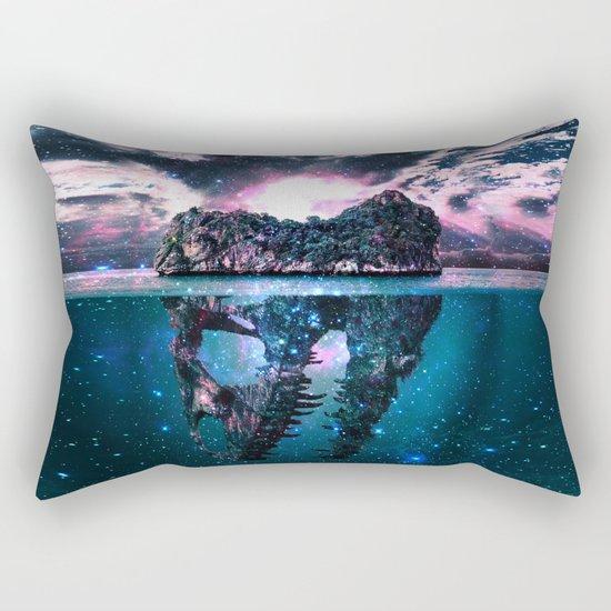 Mystery Island Rectangular Pillow