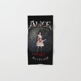 Alice Madness Returns Hysteria Game Design Hand & Bath Towel