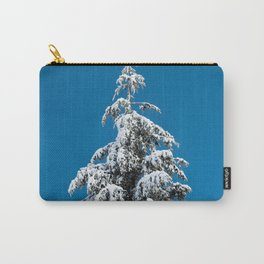 Winter Forest Fir Tree Snow X - Nature Photography Carry-All Pouch