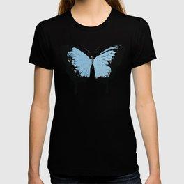 Blue butterflies T-shirt