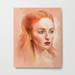 Sophie Metal Print