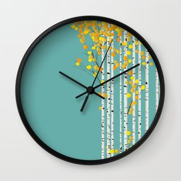 Birchwood Wall Clock