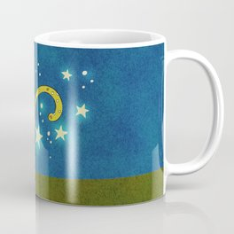 Olive the Starry Cat Coffee Mug