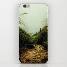 path through the dunes iPhone Skin