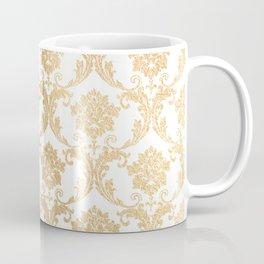 Gold swirls damask #4 Coffee Mug
