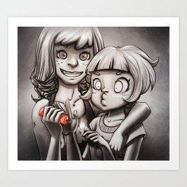 TNT Art Print