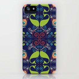 Peacock Nouveau iPhone Case