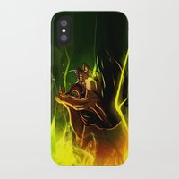 fight iPhone & iPod Cases featuring Fight! by faun-songs