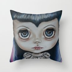Baby Vamp Throw Pillow
