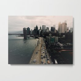 NYC - FDR Drive Metal Print