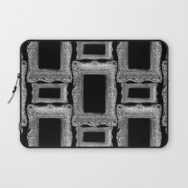 Antique Frame black and white #2 Laptop Sleeve