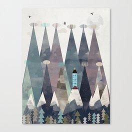 the love nest Canvas Print