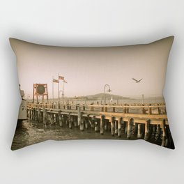 View of Alcatraz - The Rock Rectangular Pillow