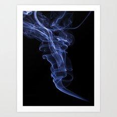 Smokey 2 Art Print