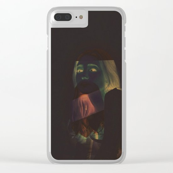 Our Ghosts Clear iPhone Case
