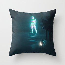 Technotopia Throw Pillow