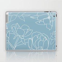 Rose on white Laptop & iPad Skin