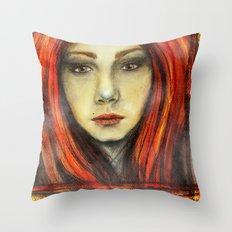 A Girl Called Ina Throw Pillow