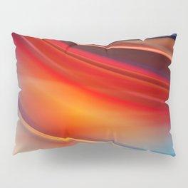 glowing Waves  Pillow Sham