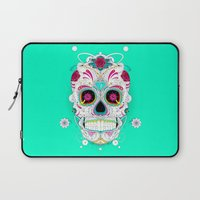 calavera Laptop Sleeves featuring Calavera by yoaz