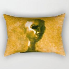 Alien Portrait Rectangular Pillow
