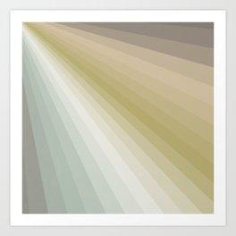 Color Rays #1 Art Print