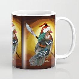 Warrior Duck Coffee Mug