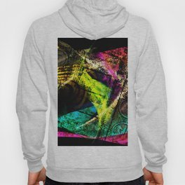 Old  cash register in colors Hoody