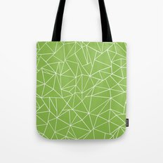 Ab Outline Greeny Tote Bag