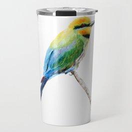 Rainbow Bee Eater by Teresa Thompson Travel Mug
