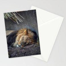 The Lion Sleeps Tonight Stationery Cards