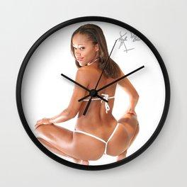 KAYLA FIREBALL MODELS Wall Clock