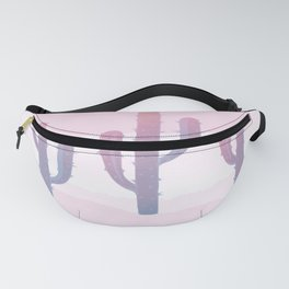 Dreamy Pastel Cacti Design Fanny Pack