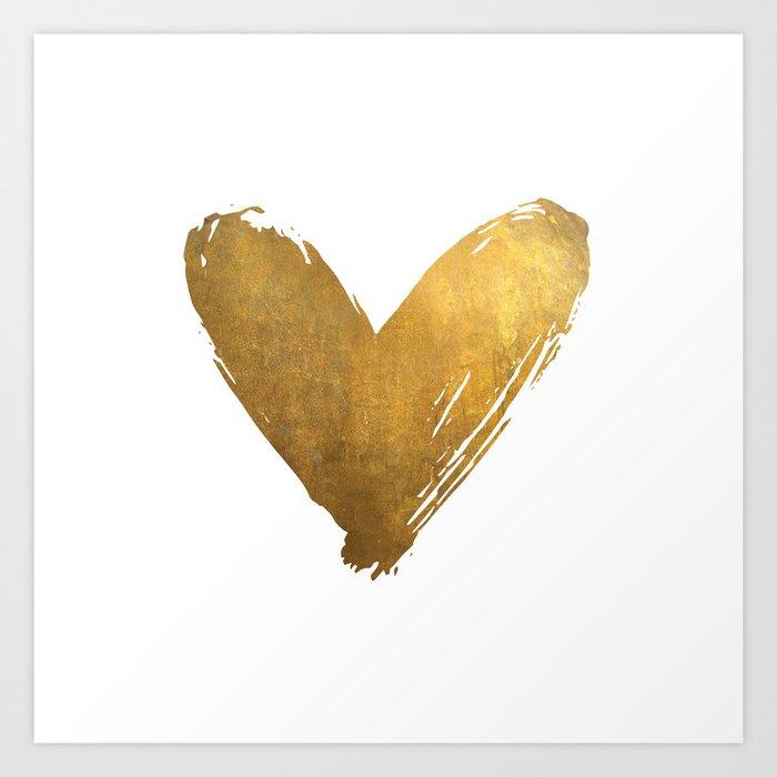 Heart of Gold Kunstdrucke
