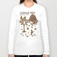 the national Long Sleeve T-shirts featuring Joshua Tree National Park by Hinterlund