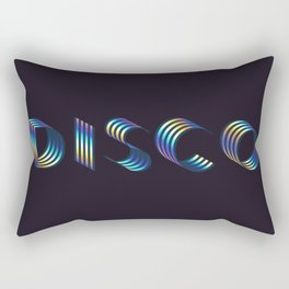 DISCO #society6artprint #decor #disco Rectangular Pillow