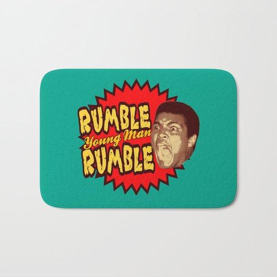 Rumble Young Man Rumble  |  Ali Bath Mat