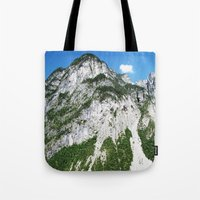 italian Tote Bags featuring Italian alps by Carlo Toffolo